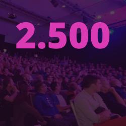2.500 VISITEURS