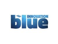 Blue innovation logo
